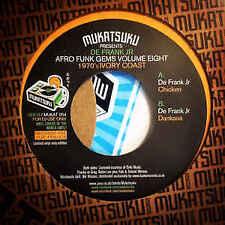 """De Frank Jr – Mukatsuku Presents Afro Funk Gems Volume Eight 7"""""""