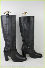 Boots PASTELLE Black Leather T 41 VERY GOOD CONDITION