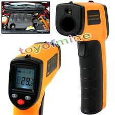 Termómetro Medidor Infrarrojo Láser IR Digital Temperatura LCD