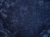 1-1/2Y Opuzen 8100 Matrix Marine Sapphire Blue Crushed Velvet Upholstery Fabric