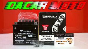 Batería Yamaha YUASA YTX5L-BS Cargado de Bw & Rsquo S 100 1999