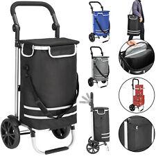 Einkaufstrolley klappbar Einkaufswagen Handwagen Einkaufshilfe Roller Monzana
