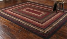 PARK DESIGN FOLK ART COLLECTION BRAIDED AREA RUG RECTANGULAR 8 BY 10