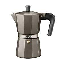 AICOOK Stovetop Espresso Machine, 6 Cups Moka Pot, Espresso and Coffee Maker ...