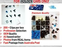 Trim Body Rivet Retainer Door Panel Bumper Fastener Clips fit HOLDEN Cars ONLY