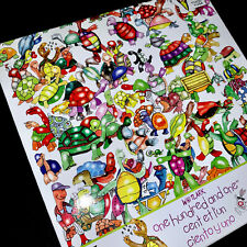 🐢🐰 NEW RARE WHITLARK One Hundred & One Turtles & A Hare 750 Piece Puzzle Ceaco