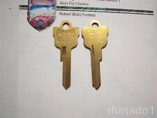 Key Blanks for Vintage Mercury 1959 - 1960 ignition/doors  (1127MP)