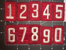 BOY SCOUT OF AMERICA VINTAGE RED TROOP NUMBERS USED