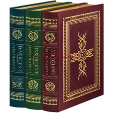 Easton Press Deluxe Signed Divergent Trilogy Veronica Roth 3 Volume Set