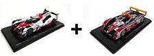 Lot de 2 Voitures 24H du Mans Toyota + Audi R10 - 1/43 Spark Miniature LM05