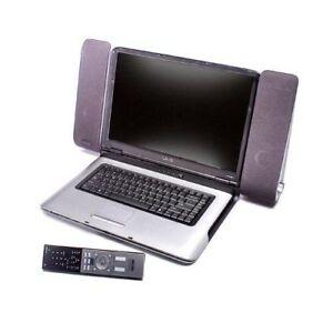Sony VAIO VGP-PRAV1 Port Replicator Docking Station w/ VGP-SP5 Speakers Remote