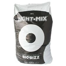 50L BioBizz Light-Mix mit Perlite Light Mix Pflanzerde GrowErde LightMix + Flyer