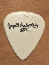 Yngwie Malmsteen Steeler Guitar Pick With Black  Lettering