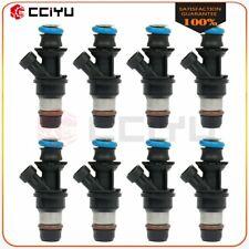 12594512 8Pcs Fuel Injectors For Chevrolet Avalanche GMC 5.3L 2006-2009