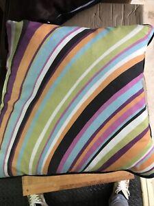 Moltex Striped Cushion