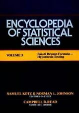 Encyclopedia of Statistical Sciences, Faa di Bruno's Formula to Hypothesis