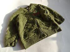 ZARA Baby Coole olivgrüne Thermo Sweatjacke Gr.12/18m 86