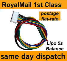 Lipo Balance Lead for repairing battery pack 5s JST-XH male 5-cell, 18.5V, 22AWG