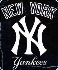 Classic New York NY Yankees 50x60 Wicked Series Fleece Throw Blanket