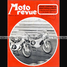 MOTO REVUE N°2057-b  JONGHI 125, MOTO ERAM YAMAHA & MAICO, MICHEL BETEMPS 1972