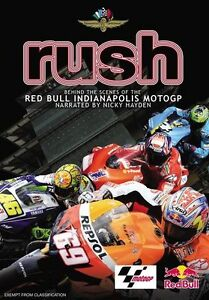 Rush -Behind The Scenes of the Red Bull Indianapolis MotoGP (DVD,2009)-FREE POST