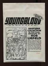 YOUNGBLOOD KEEPSAKE ART COLLECTION BY ROB LIEFELD-NEW-LIMITED EDITION #1218-1992