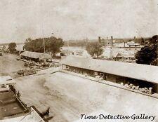 Front St. & Sacramento River, Sacramento, CA - 1866 - Historic Photo Print