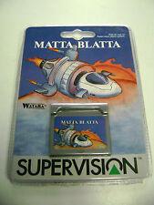 Watara Supervision Game MATTA BLATTA Watara Supervision Game System BRAND NEW