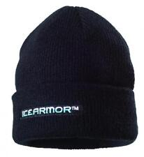 NEW Clam Outdoor Winter Ice Fishing 9823 Icearmor Classic Black Knit Toque