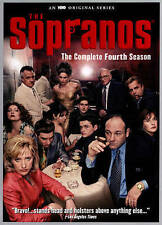 SOPRANOS SEASON 4 (DVD, 2015, 4-Disc Set, Newer Slim-Box) NEW