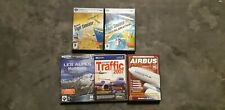 Lot - microsoft flight simulator X + expansion - Airbus - traffic 2007 - alpes