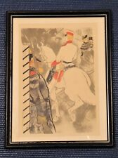 Toulouse Lautrec Small Lithograph (9x12), Babylone d'Allemagne