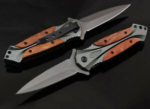 Folding Hunting Pocket Knife Survival Military Outdoor Fishing