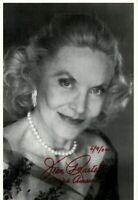 Autogrammfotokarte Audrey Hepburn AK1