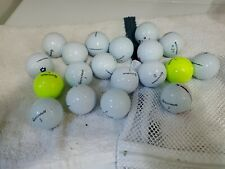 New listing TaylorMade Tour Response Golf Balls Used 15 Per Auction SHIPS FREE!
