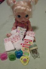 BABY ALIVE REFILL PK  DIAPERS , FOOD W  PACis  AND STORAGE CUP  :NO DOLL
