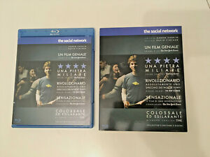THE SOCIAL NETWORK (FILM FACEBOOK) COLLECTOR'S EDITION 2 DICHI BLU RAY SOVRACOPE