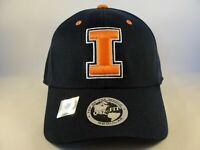 Illinois Illini NCAA Flex Hat Cap Navy