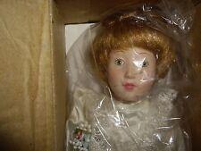 "Danbury Mint 9"" Inch Porcelain Doll"