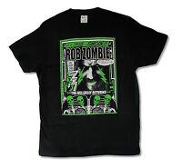 Rob Zombie Hellbilly Returns Shocking Mens Black T Shirt New Official Merch
