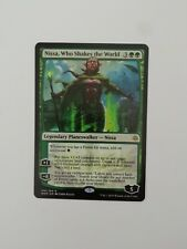 MTG War of the Spark Nissa, Who Shakes the World near mint