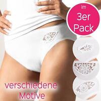 Schw 38-50 Haut Weiß Damen HÜFTSLIP 5er Pack von Pompadour 8210//2//3-020-P Gr