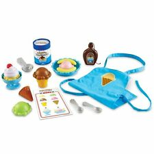 Learning Resources Pretend and Play Ice Cream Shop , New, Free Shipping