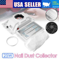 25W Salon Suction Dust Collector Machine Vacuum Cleaner Tools Nail Art Manicure