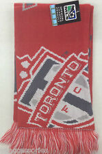NWT MLS Toronto FC Adidas Winter Knit Tassel Scarf NEW!