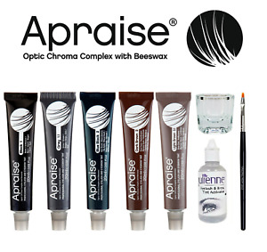 Apraise Eyebrow & Eyelash Tint Dye All Colors Tint or Full Activator Starter Kit