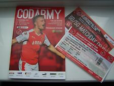 FOOTBALL PROGRAMME, FLEETWOOD TOWN, BRADFORD CITY,  LEAGUE1, 2017, PLAY OFF