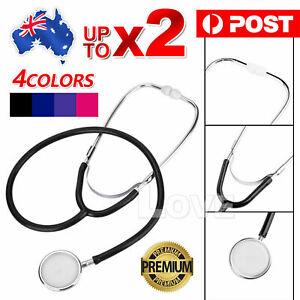 Professional Stethoscope Single Head Doctor Nurse Vet Medical Student HealthWork