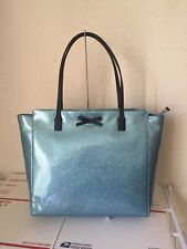 NWT Kate Spade taden Mavis Street Large Tote Bag Glitter Shoulder Bag Lakesedge