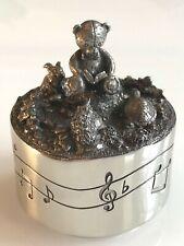 Royal Selangor Boite /à musique carroussel Teddy Bear